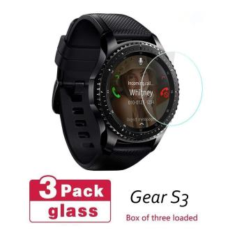 Harga Seeme-Tempered Glass Screen Protector For Samsung Gear S3 Glass(3PC)