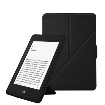 Harga Smart Cover for Amazon Kindle PaperWhite 1/2/3 (Black) - intl