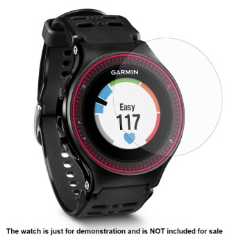 2PACK Premium HD Clear 9H Hardness Tempered Glass Screen Protector Film for Garmin Forerunner 225 Smart Watch - intl - 5