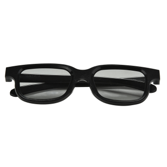 Circular Polarized Passive 3D Glasses for 3D Video Movies (EXPORT) - Intl - 3