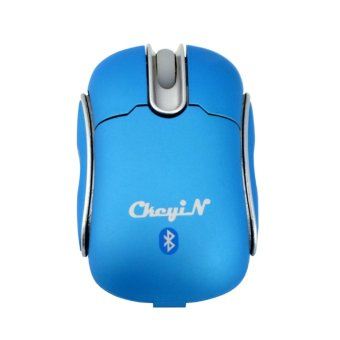 Ckeyin Mini Bluetooth Mouse (Blue) - 3