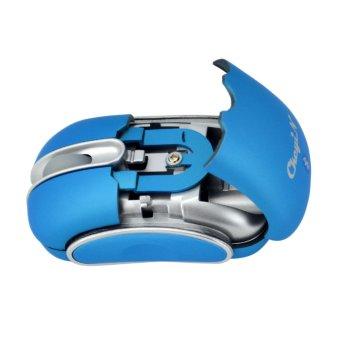 Ckeyin Mini Bluetooth Mouse (Blue) - 4