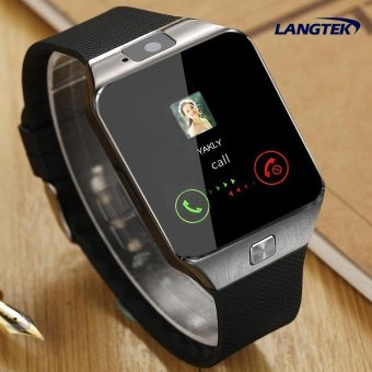 Wearable Devices Smart Watch With SD Card Slot Electronics Wrist Phone Watch For Android Smart Phone Smartwatch With Camera Bluetooth Pedometer Answer Call ...