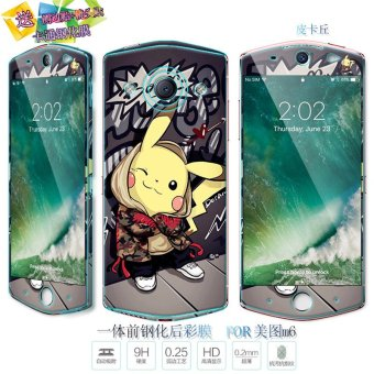 Harga DOB mito mito m6 m6 glass film mobile phone hd m6 before and after the cartoon film color film body