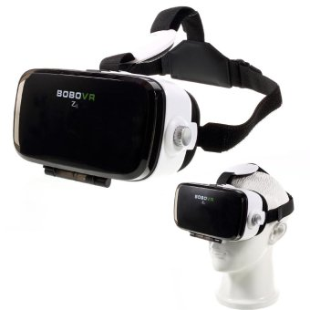Harga BOBO Z4 Mini VR Virtual Reality 3D Glasses Headset Private Theater for iPhone 6s/Samsung S7 - intl