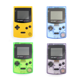 Harga GB Boy Color Handheld Game Console Game Player with Backlut 66 Built-in Games (Yellow) - intl