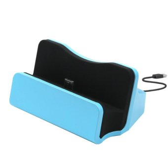 Harga Charging Dock Cradle Stand +Cable for Android Phone (Blue) - intl