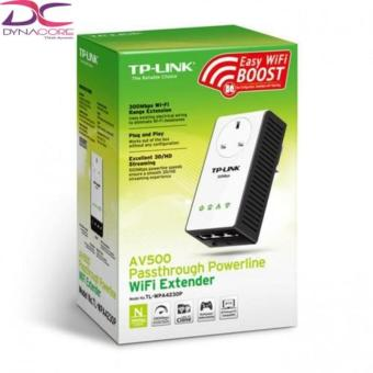 Harga TP-Link TL-WPA4230P AV500 Passthrough Powerline Wi-Fi Extender