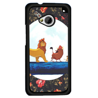 Harga Y&M Fashion Cute Lion Pattern Hard Plastic Phone Case for HTC one X (Multicolor) - intl