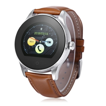 Harga K88H Bluetooth 4.0 Smart Watch for Android and IOS(Brown)