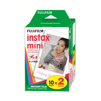 Harga 40 Sheets Fujifilm Instax Mini Twin Film (2 Twin Pack)