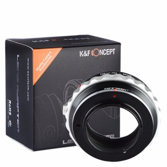 Harga K&F Concept adapter for Nikon G mount lens to Micro 4/3 M4/3 Mount Adapter G3 - intl