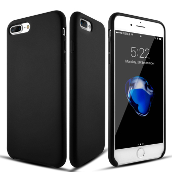 Roybens Ultra-Thin Matte Soft Silicone Case Cover For Apple iPhone 7 Plus Black
