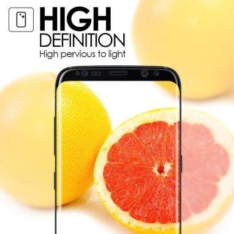 Galaxy S8 Screen Protector(3D Glass), LUOWAN 3D Full Coverage Tempered Glass Screen Protector for Samsung Galaxy S8 (White) - 5