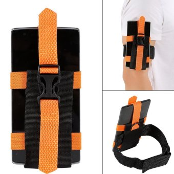 Harga Sport Gym Running Armband Case Pouch For Phones Orange - intl