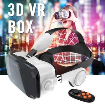 Harga BOBO Z4 VR Box 120°Virtual Reality Headset 3D Private Movie Game Theater AC348