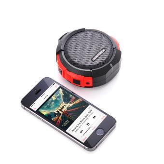 Azustar RockTube SBX2 Bluetooth Speaker (Black) - 4