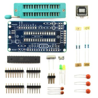 Harga UNO R3 ATmega328P Development Board DIY Soldering Parts w/ Soldering Tutorial for Arduino