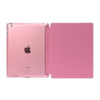 Harga Welink Ultra Slim Smart Cover PU Leather Case for Apple iPad 2/3/4 (Pink) - intl