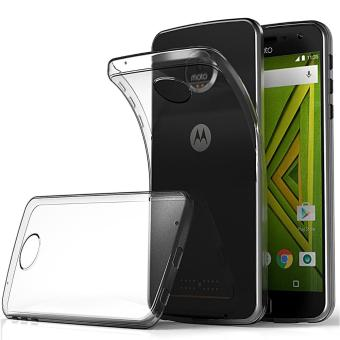 Harga Ultra Slim Case for Motorola Moto Z Play Soft TPU Transparent Protector Cover - intl
