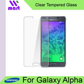 Harga Tempered Glass Screen Protector (Clear) For Samsung Galaxy Alpha