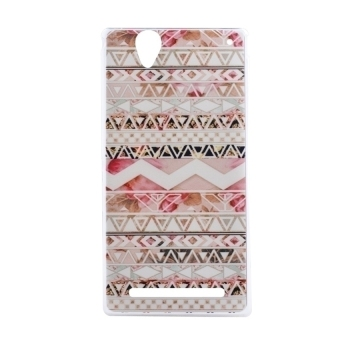 Harga Sony Xperia T2 Soft Case TPU Ultra-thin Back Case - Tribe Pattern