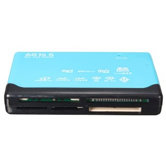 Harga USB 2.0 All in One Multi Memory Card Reader Adapter SD/SDHC/CF/MS/SDXC/XD/TF/M2 - intl