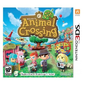 Harga 3DS Animal Crossing New Leaf / US (English)