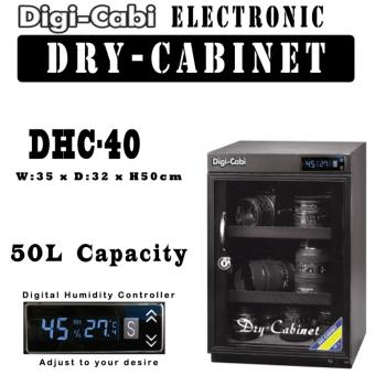 Harga DHC-40 | 50L Digi Cabi Electronic Dry Cabinet | 5 Years Warranty |