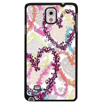 Harga Y&M Floral Heart Phone Cover for Samsung Galaxy Note 3 (Multicolor)