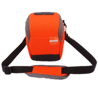 Harga Orange Soft Camera Bag Case Pouch for For Sony A5100 a6300 A7 A7R