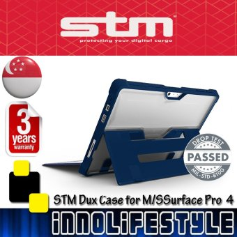 Harga STM Dux Rugged Case for Microsoft Surface Pro 4 (Blue)