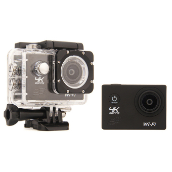 Harga 4K  Waterproof Sports Camer DV Black - Intl