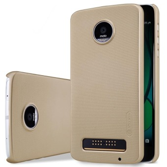 Harga Nillkin PC Matte Super Frosted Shield Back Case For Motorola MOTO Z Play (Gold)