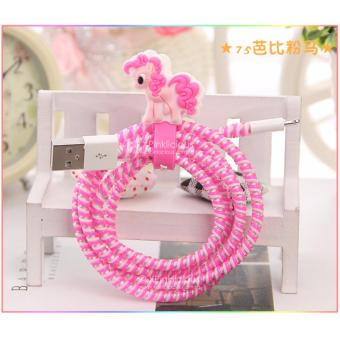 Harga Little Pony Pink Cable Protector with Cord Winder