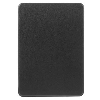Harga Litchi Leather Smart Case for Amazon Kindle Paperwhite 3/2/1 - Black(Intl) - intl
