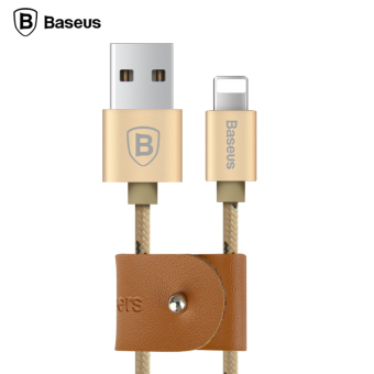 Baseus 0.5m USB Cable Nylon Braided Fast Data Sync Charging Lightning Cable For iPhone(Silver) - Intl - 4