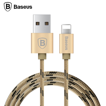 Baseus 0.5m USB Cable Nylon Braided Fast Data Sync Charging Lightning Cable For iPhone(Silver) - Intl - 2