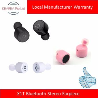 Harga X1T Bluetooth Stereo Earpiece (Black / Pink / White)