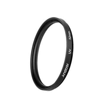 Harga Andoer 52mm UV Ultra-Violet Filter Lens Protector for Canon Nikon DSLR Camera
