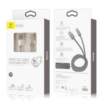 BASEUS Speed QC Cable for Huawei Type-C ★ Supports 5V/5A Lightning Fast Charging - 3