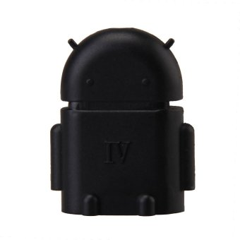 Harga OTG Adapter Connector for Mobile Phone to USB Flash Disk Tablet PC Black (Intl) - intl