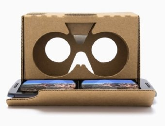 Harga 2016 Model Google Cardboard V2 with Head Strap VR Box Virtual Reality (VR) 3D Glasses - High Quality Support all type phones Apple iPhone 6 plus Samsung Note