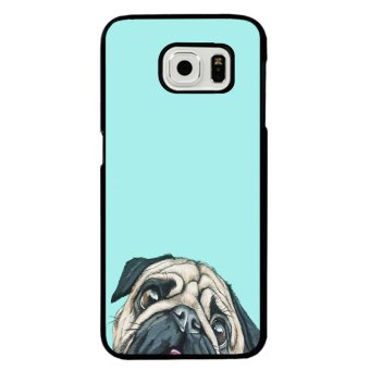Harga Y&M Cell Phone Case For Samsung Galaxy S6 Pug Dog Printed Cover (Multicolor)