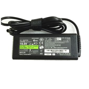 Harga 90W 19.5V 4.7A Replacement AC Power Adapter / Charger VGP-AC19V13 For Sony VAIO PCG-705 PCG-705/S PCG-707 PCG-713 PCG-713/32 - intl