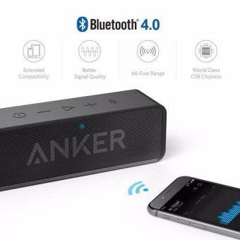 Anker SoundCore Bluetooth Speaker (Black) - 4