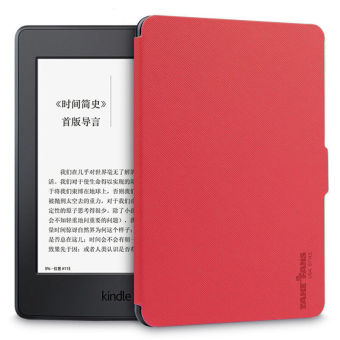 Harga TAKE FANS Premium PU Leather Kindle Case for Amazon Kindle PaperWhite 1/2/3 (Red)