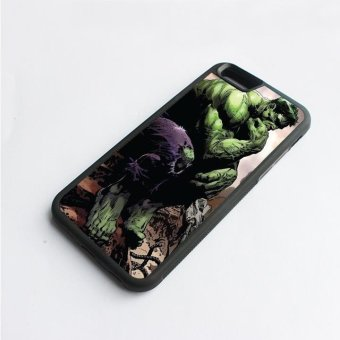 Harga phone case TPU cover Top Quality Cool Marvel Comic Hero Hulk for Apple iPhone 6 / 6s - intl