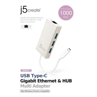 J5create JCH471 USB Type-C To Multi Adapter