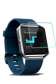 Harga Seeme Smart Watch Tempered Glass Screen Protector for Fitbit Blaze Smart Watch